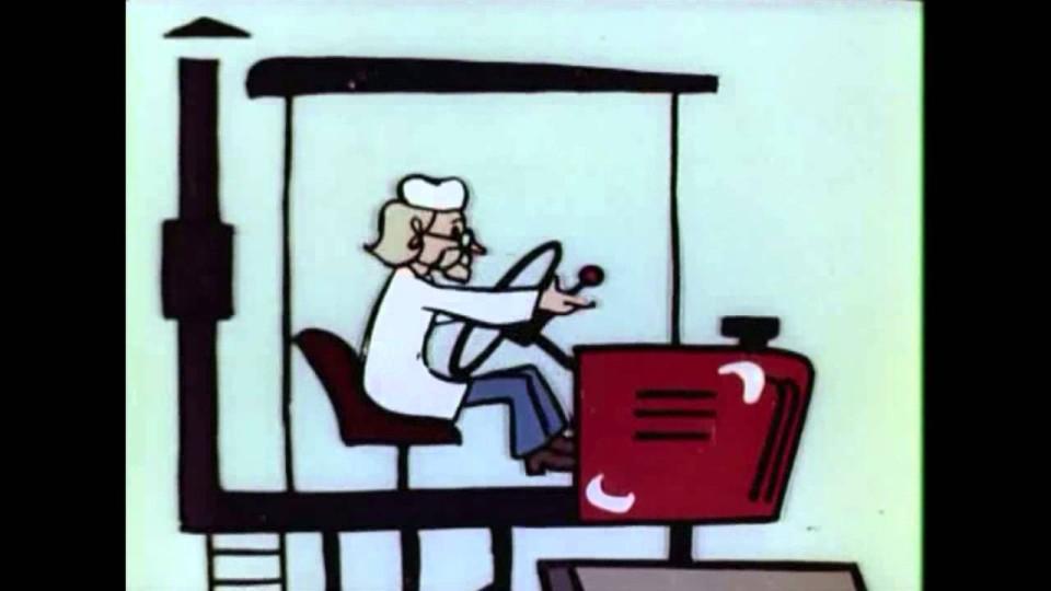 Мультфильм: Лечение Василия | Весёлая карусель № 6