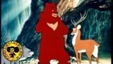 Мультик: Олень и волк