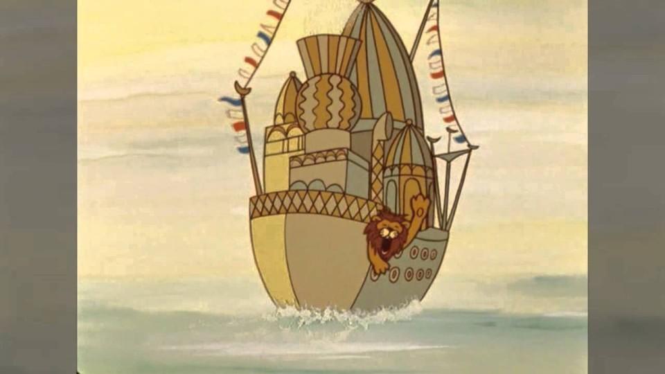 Песни из мультфильмов — Лев — циркач («В порту»)