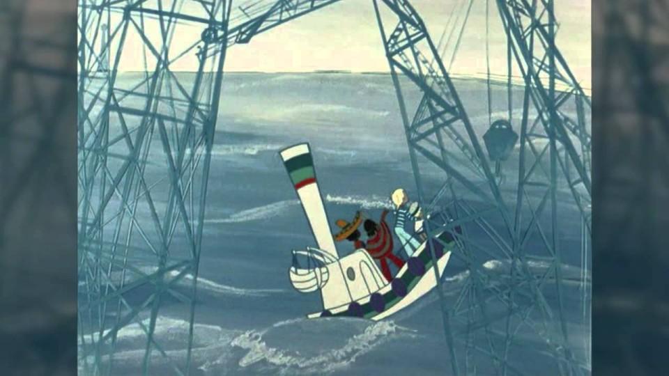 Песни из мультфильмов — Про катерок из мультфильма «В порту»