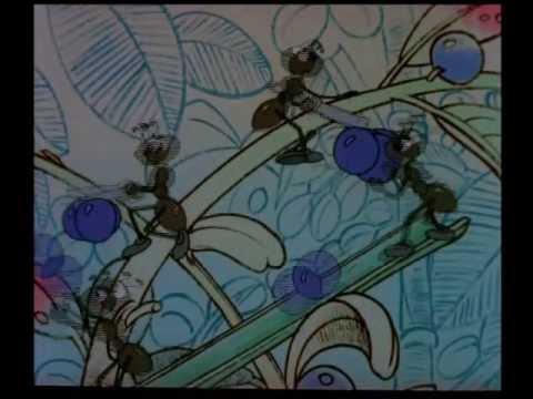 Мультфильм Стрекоза и муравей