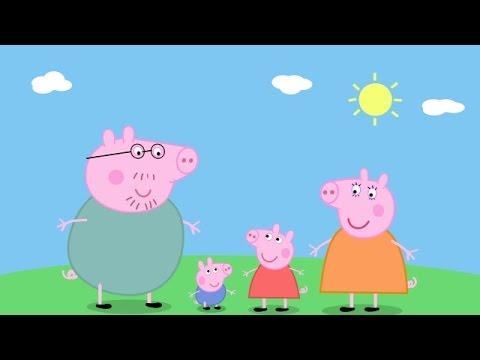Свинка пеппа на русском новые серии подряд 2015
