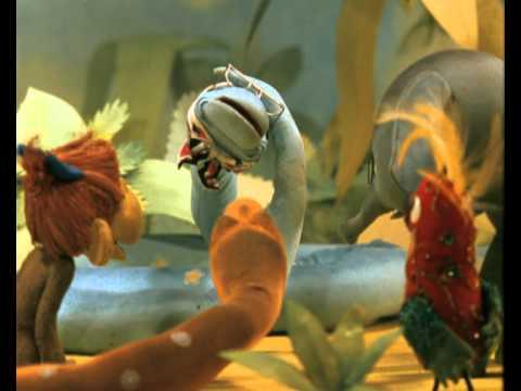 Мультфильм Тридцать восемь попугаев — Бабушка удава