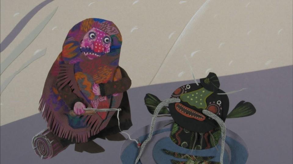 Гора самоцветов — Ловись рыбка (Caught a fish) Украинская сказка
