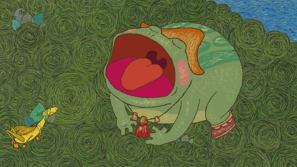 Гора самоцветов — Лягушка и муравьи (The frog and the ants) Алтайская сказка