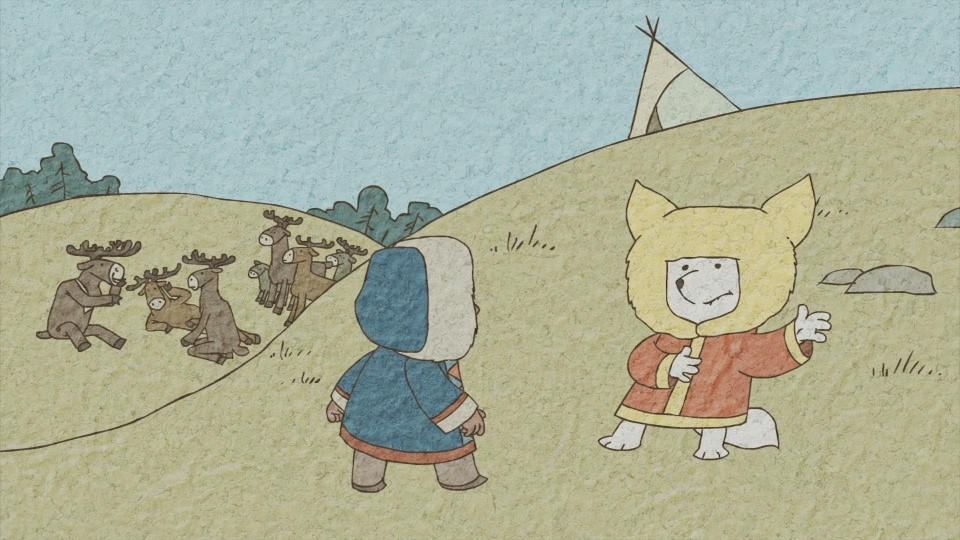 Гора самоцветов — Проделки лиса (Fox tricks) Хантская сказка