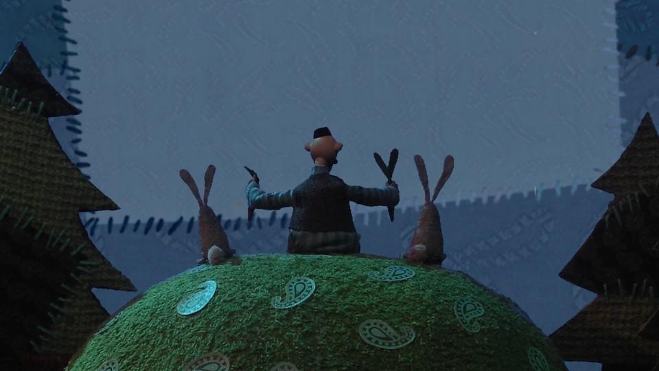Гора самоцветов — Заяц-слуга (Hare the servant) Татарская сказка