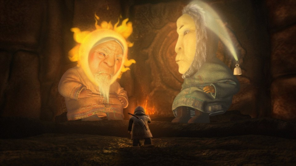 Как помирились Солнце и Луна (How the Sun and the Moon made peace)