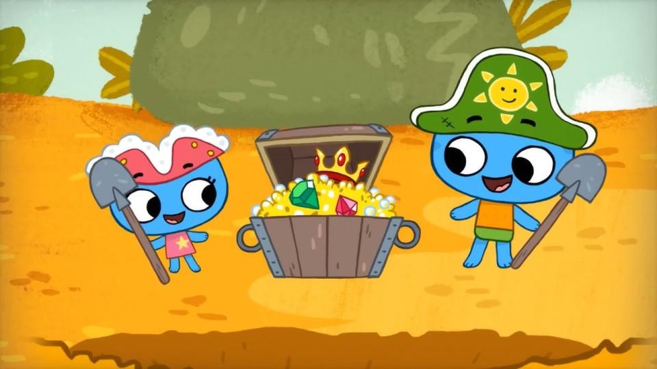 Котики вперед! — Сокровища острова Попугая! (14 серия)