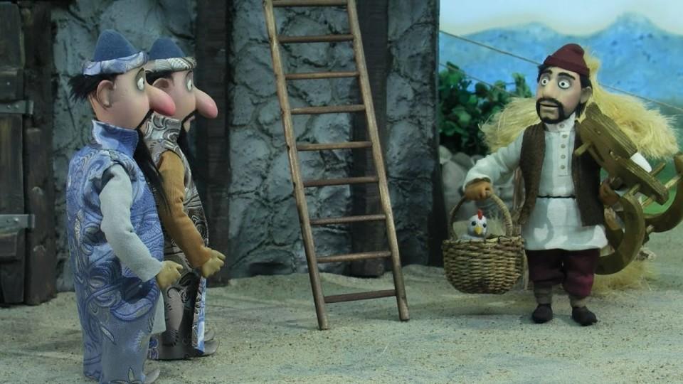 Мультфильм Гора самоцветов — Царь и Ткач (The king & weaver) Армянская сказка