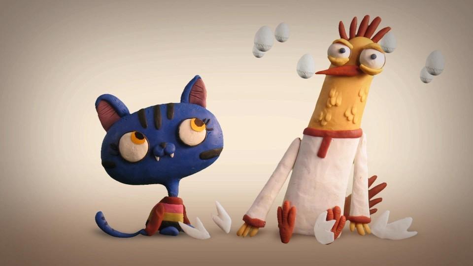 Мультфильм Гора самоцветов — Петушок и Кошечка (A Cockerel and a Pussy-Cat) Эрзянская сказка