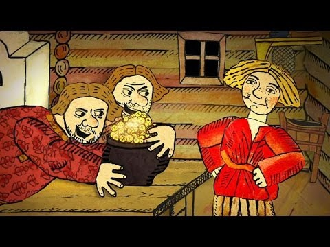 Мультфильм Гора самоцветов — Про Ивана-дурака (About Ivan the fool) Русская сказка