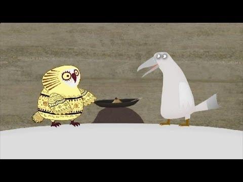 Мультфильм Гора самоцветов — Про Ворона (About the raven) Эскимосская сказка