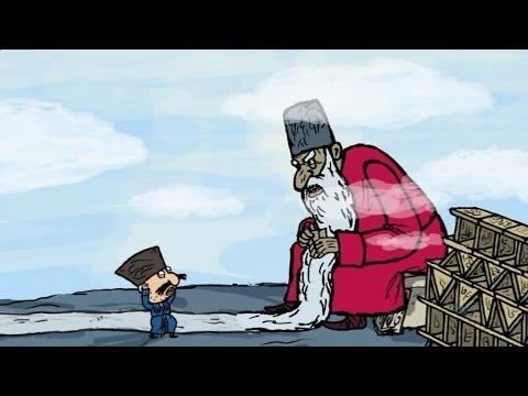 Мультфильм Гора самоцветов — Шейдулла-Лентяй (Sheydulla lazy) Даргинская сказка