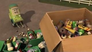 Робокар Поли — Трансформеры — Суета вокруг мусора