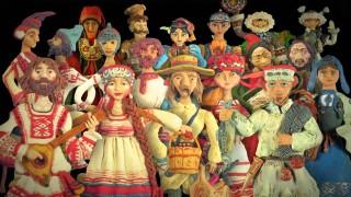 Мы живем в России — Народы России (Видеоэнциклопедия нашей страны)