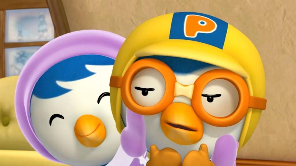 Пингвиненок Пороро — Поиграть с Кронгом