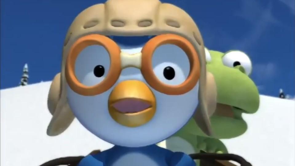 Пингвиненок Пороро — Будь осторожен! (Серия 24) Мультфильм
