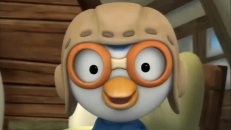 Пингвиненок Пороро — Игра в магниты (Серия 28) Мультфильм