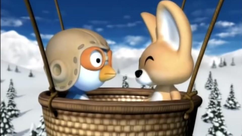 Пингвиненок Пороро — Воздушный шар Эдди (Серия 47) Мультфильм