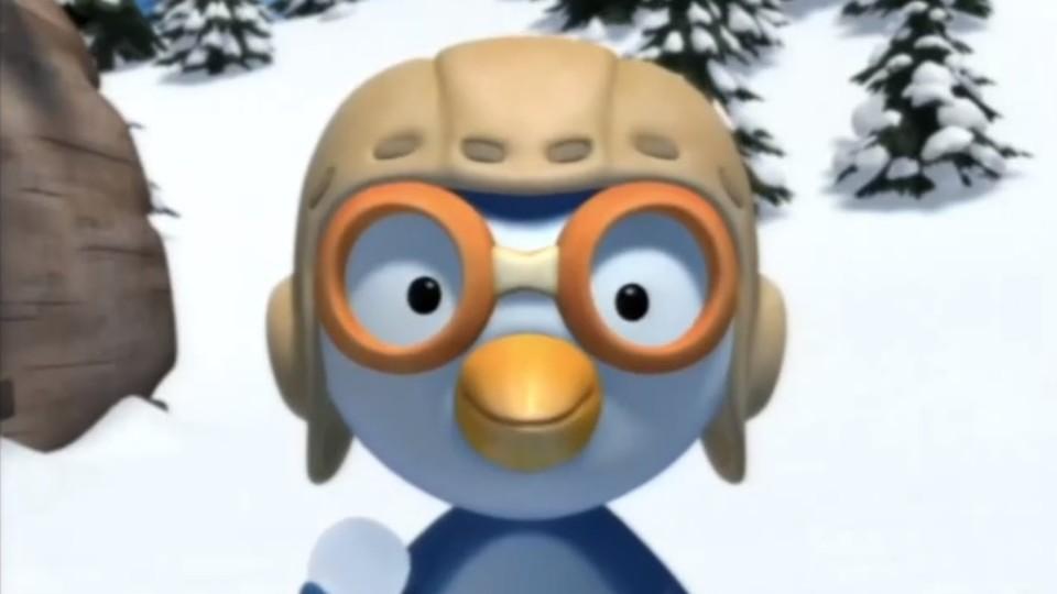 Пингвиненок Пороро — Снежная картина (Серия 15) Мультик
