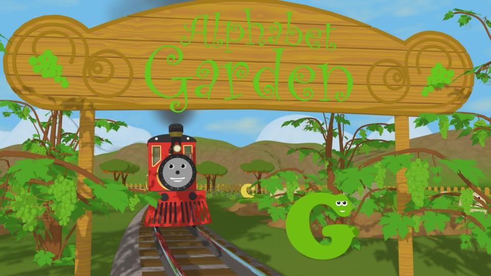 Английский алфавит. Буква G. Паровозик Шонни. Развивающий мультфильм для детей.