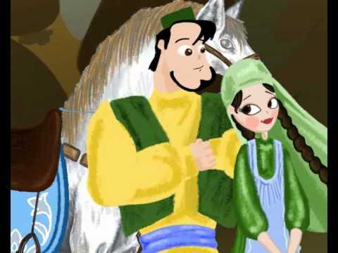Мультфильмы на татарском языке. Ике кыз («Две дочери»)