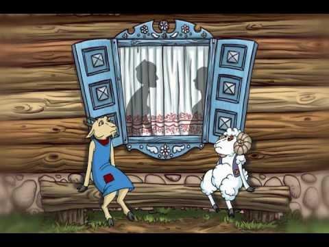 Мультфильмы на татарском языке. Мультфильм «Кәҗә белән Сарык» («Коза и Баран»)