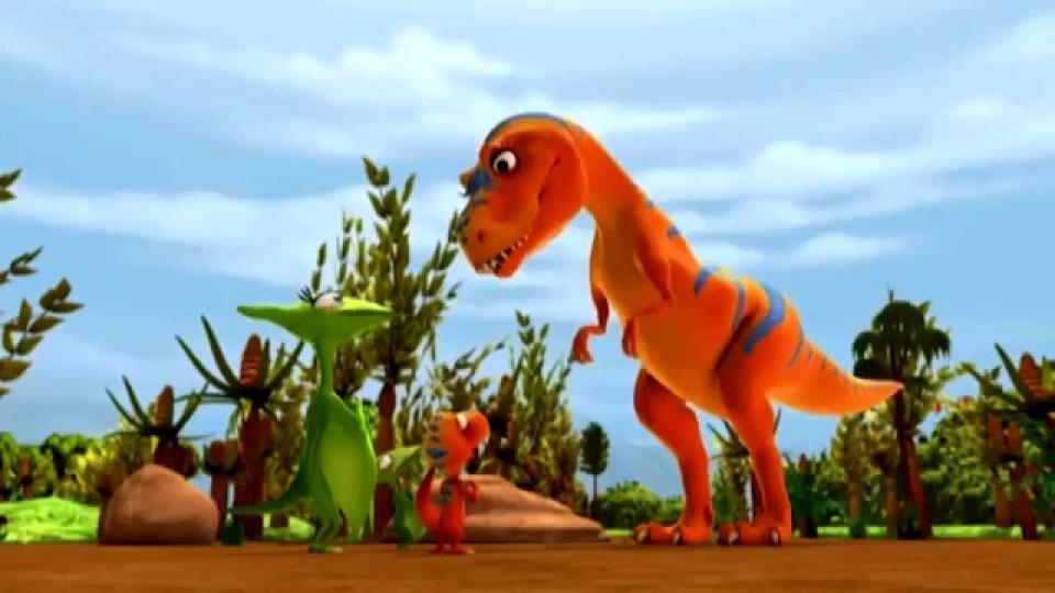 Поезд динозавров все серии подряд. Мультфильмы для детей