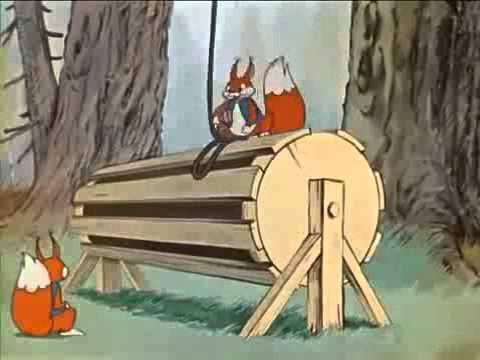 Старые добрые советские мультфильмы — разные колеса