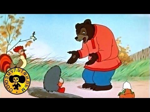Мультфильм Сказки Сутеева — Разные колеса