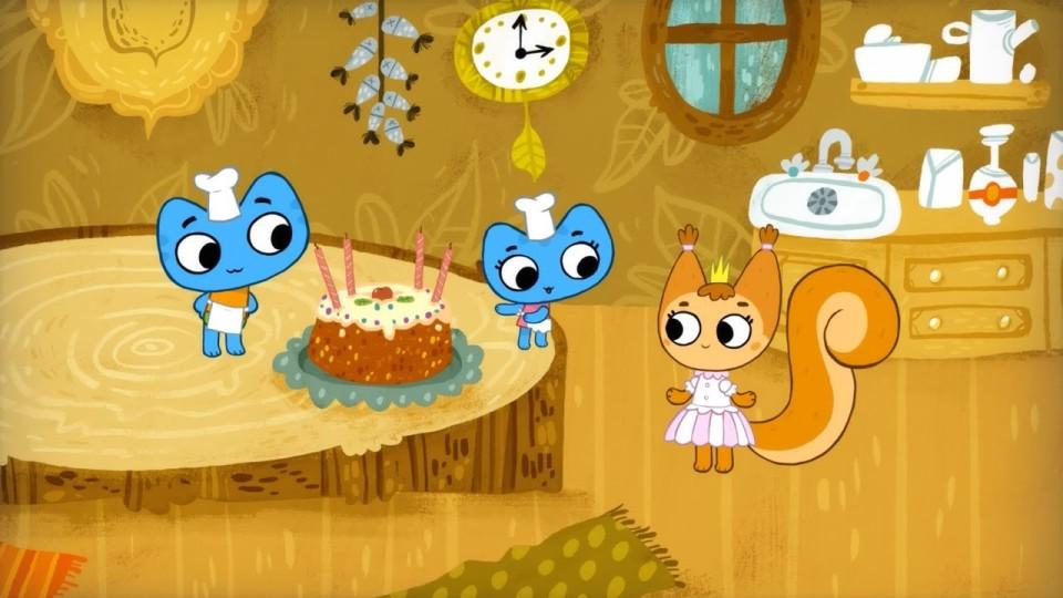 Котики, вперед! — Торт для принцессы (6 серия)