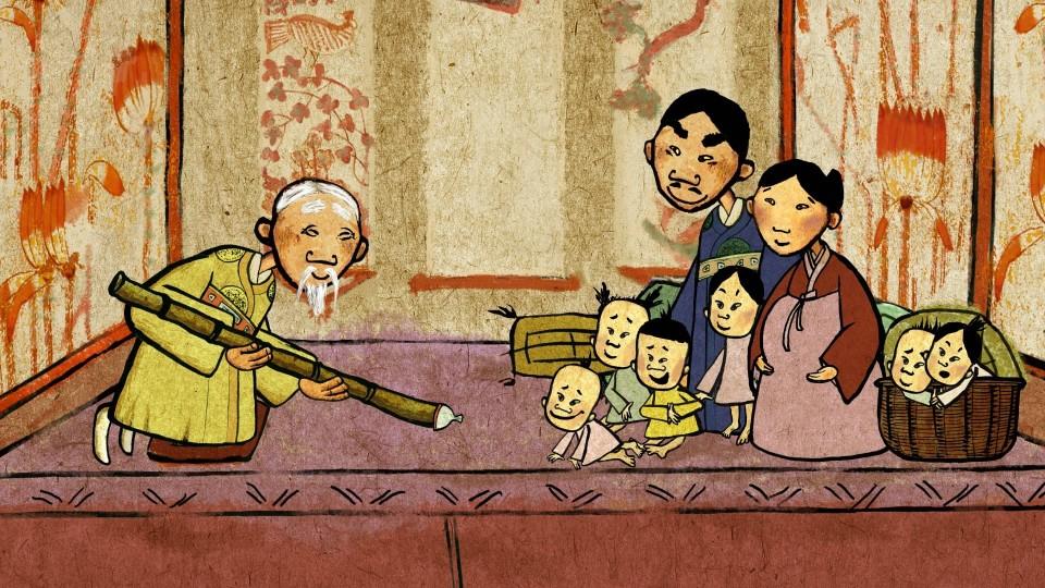 Мультфильм Гора самоцветов — Чепоги (Chepogi) Корейская сказка