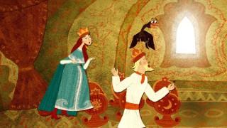 Мультфильм Гора самоцветов — По колено ноги в золоте, по локоть руки в серебре (Knee-deep feet in gold…)