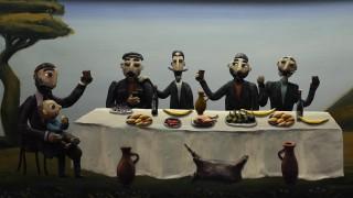 Мультфильм Гора самоцветов — Подарки черного ворона (The Gifts of the Black Raven) Грузинская сказка