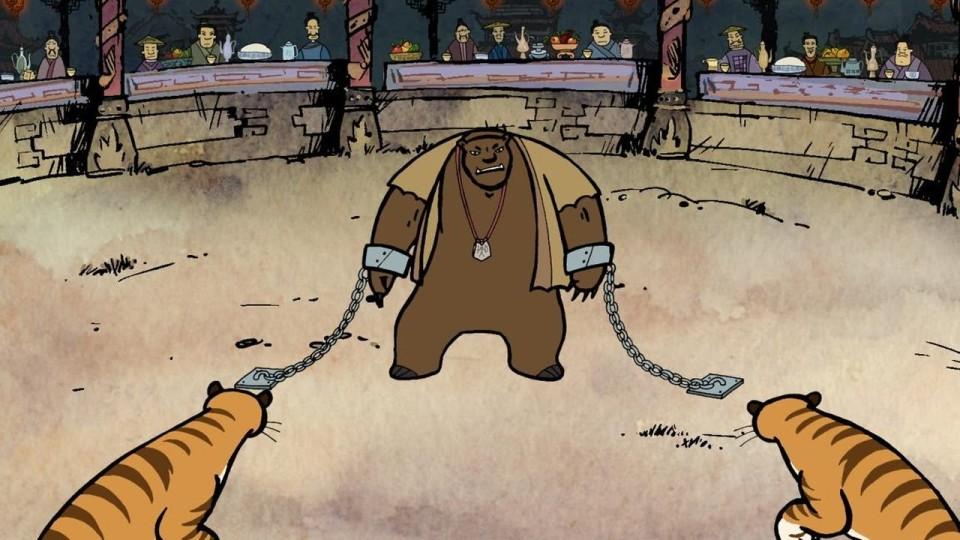 Мультфильм Гора самоцветов — Сердце зверя (Heart of beast) Амурская сказка