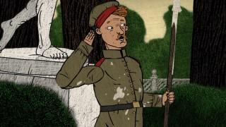 Мультфильм Гора самоцветов — Солдат и птица (A soldier and a bird) Солдатская сказка