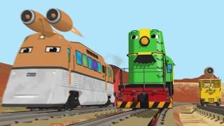 Мультфильмы для детей. Мультфильм конструктор. Завод Паровозов. Летающий поезд и цифры.
