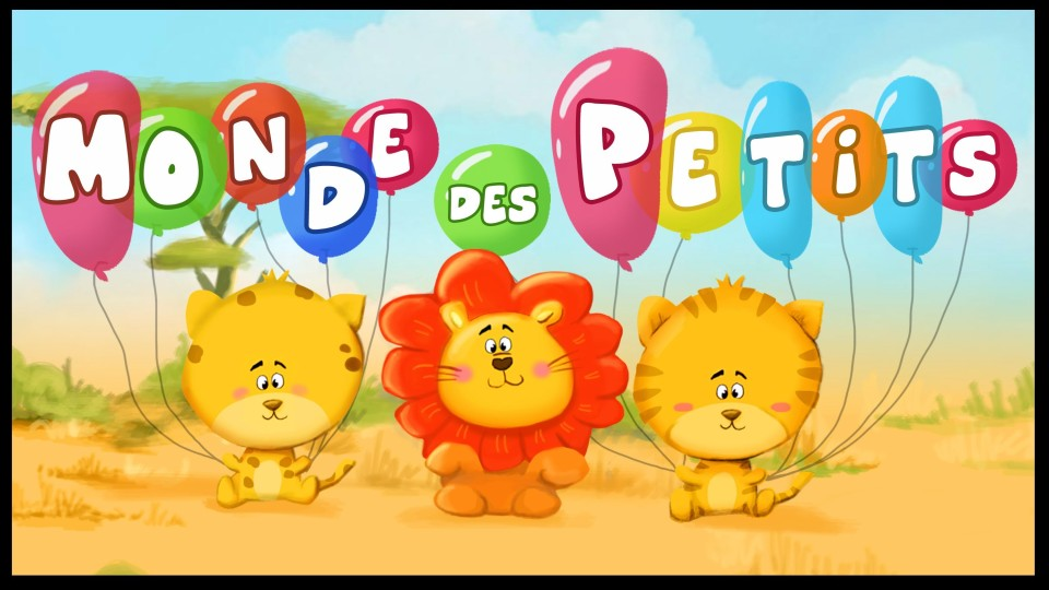 Мультфильмы на французском языке Comptines et chansons pour enfants