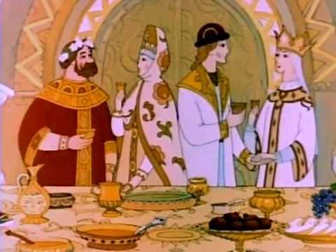 Мультфильмы на испанском языке. Подборка мкльтфильмов. El Principe y el Cisne o El Zar Saltan 1984 — Castellano