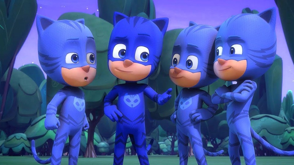 Герои в масках — Кэтбой в квадрате — Все серии подряд — мультики для детей